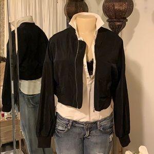 Zara bomber jacket!